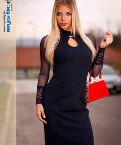 fekete necc ruha