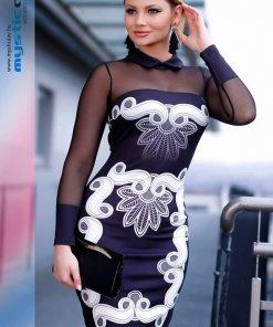 dafne fekete fehér ruha mystic day