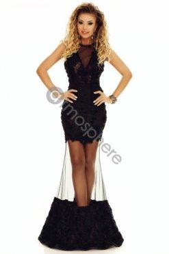 9bdf654335 fekete csipkes sello maxi ruha atmosphere ...