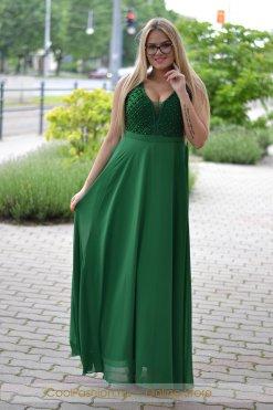 borsozold gyongyos muszlin maxi ruha f3e23ef651