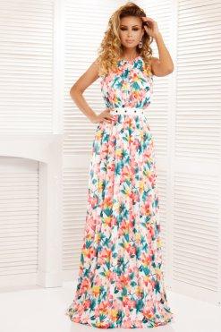 a065a35175 színes virágos maxi ruha atmosphere ...