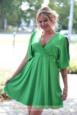 zöld loknis ruha mystic day