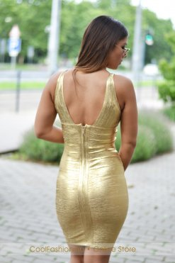 arany bandage ruha