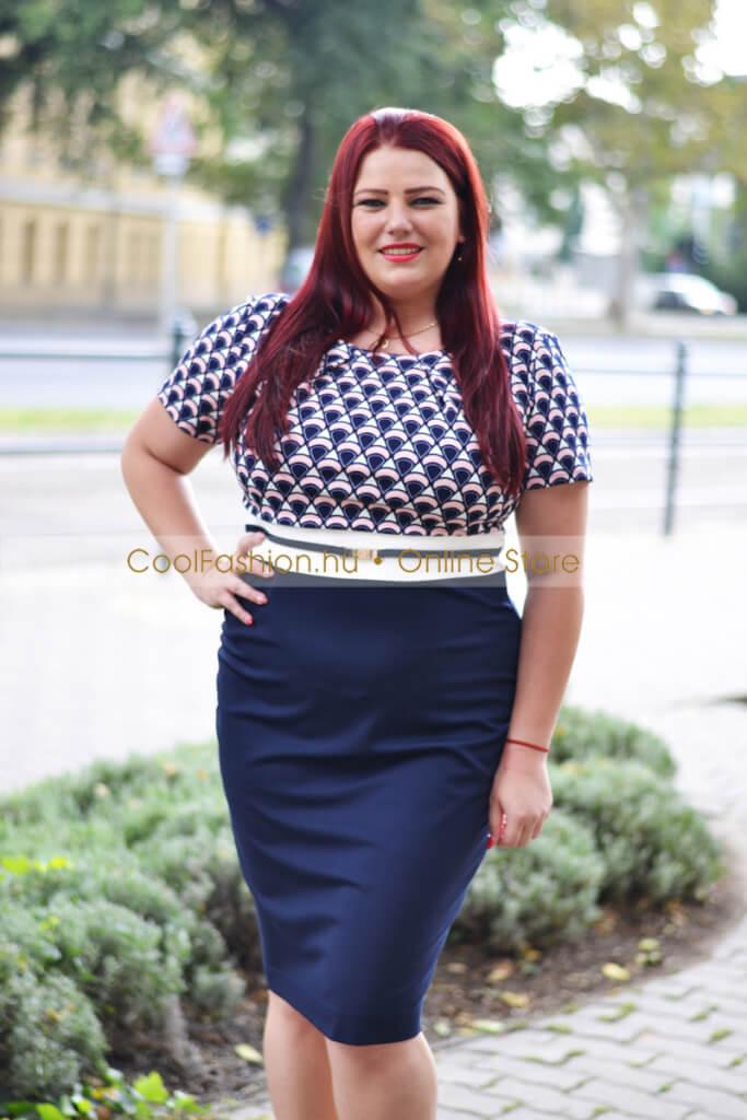e09b4bdc35 Molett habcukor mintás ruha – Cool Fashion